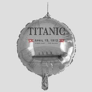TG2 Ghost Boat 12x12-b Mylar Balloon
