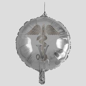 vet11_d Mylar Balloon