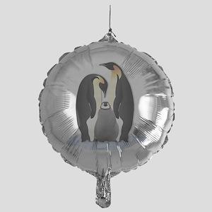 Penguin Family Mylar Balloon