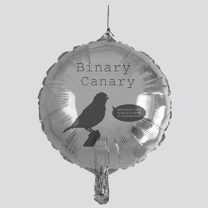 binarycanary Mylar Balloon