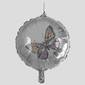 Exotic Butterfly Mylar Balloon