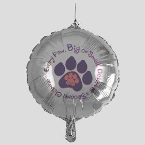 Every Paw Mylar Balloon
