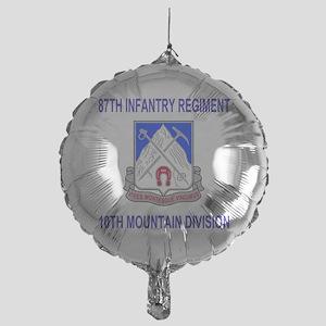 Army-87th-Infantry-Reg-Shirt Mylar Balloon