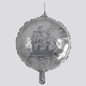 Nautical Ship Mylar Balloon