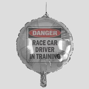 DN RACE CAR DRVR TRAIN Mylar Balloon