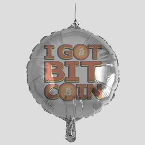 I Got Bitcoin Large Text Mylar Balloon
