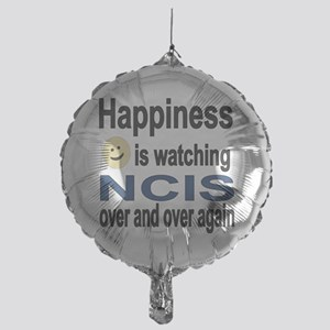 Happiness is Watching NCIS Mylar Balloon