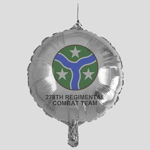 ARNG-278th-RCT-Shirt Mylar Balloon
