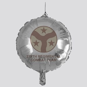 ARNG-278th-RCT-Shirt-Subdued Mylar Balloon