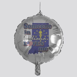 indiana Mylar Balloon