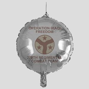 ARNG-278th-RCT-Iraqi-Freedom-Subdued Mylar Balloon
