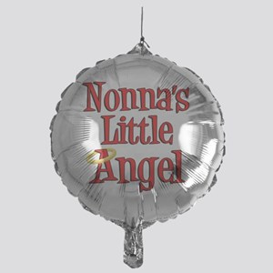Nonnas Little Angel Mylar Balloon