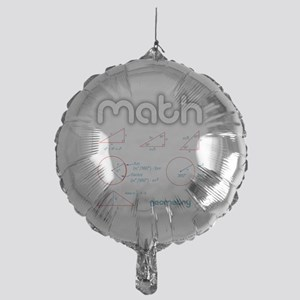 Geometry Mylar Balloon