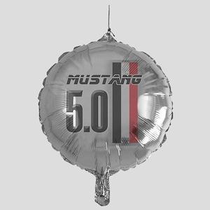 Mustang 5.0 BWR Mylar Balloon