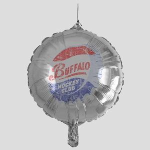 Vintage Buffalo Hockey Mylar Balloon