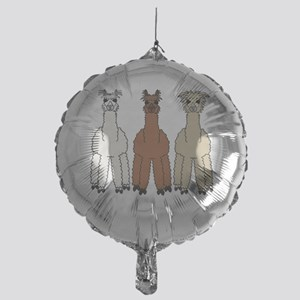 alpacadark Mylar Balloon