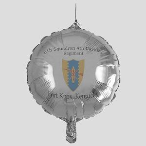 6th Squadron 4th Cavalry Mylar Balloon