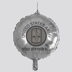 Army-172nd-Stryker-Bde-Arctic-Wolves Mylar Balloon