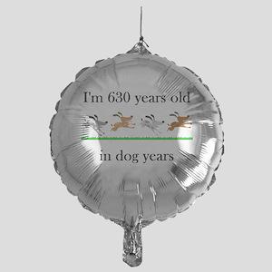 90 birthday dog years 1 Balloon