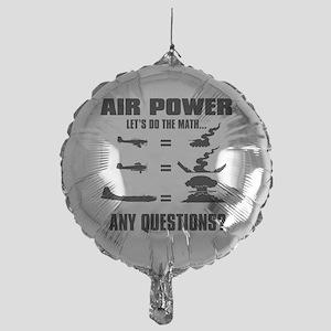 Air Power Mylar Balloon