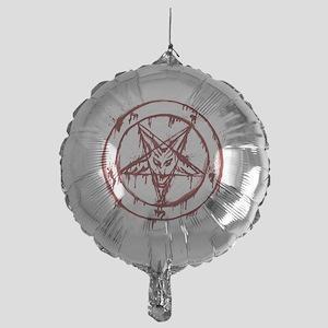 slayer pentagram Mylar Balloon