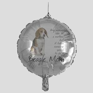 Beagle Mom Mylar Balloon