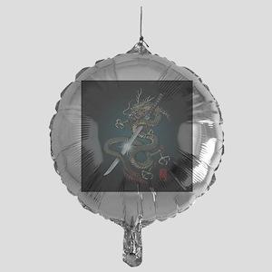 Dragon Katana01 Mylar Balloon
