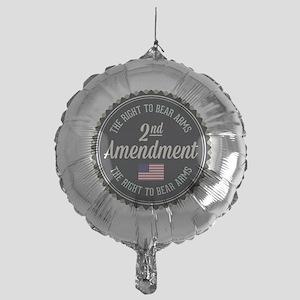 Second Amendment Mylar Balloon