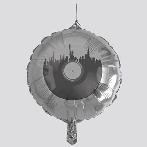 New York City Vinyl Record Mylar Balloon