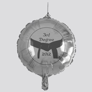 Martial Arts 3rd Degree Black Belt Mylar Balloon