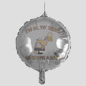 BEER60 Mylar Balloon