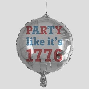 Party Like It's 1776 Mylar Balloon