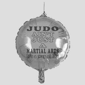 Judo Martial Arts Designs Mylar Balloon
