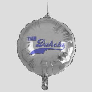 Team Dakota Mylar Balloon