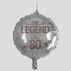 Men's Funny 80th Birthday Mylar Balloon