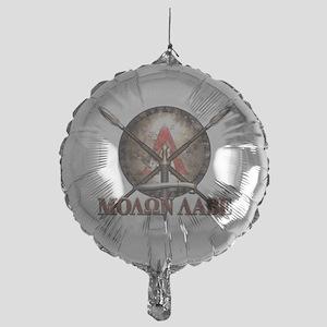 Molon Labe - Spartan Shield and Swords Balloon