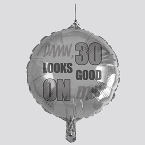 Funny 30th Birthday (Damn) Mylar Balloon