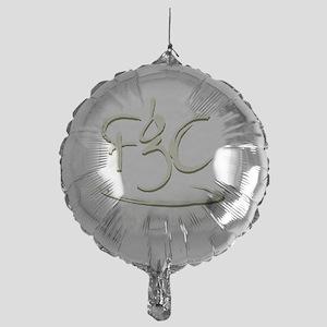 scriptlogo Mylar Balloon