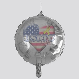 USMC wife Mylar Balloon