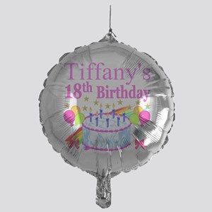 PERSONALIZED 18TH Mylar Balloon