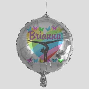 PERSONALIZE GYMNAST Mylar Balloon