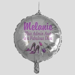 TOP ADMIN ASST Mylar Balloon