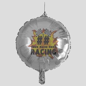 Flaming Racing Balloon