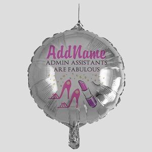 BEST ADMIN ASST Mylar Balloon