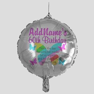 UPLIFTING 60TH Mylar Balloon