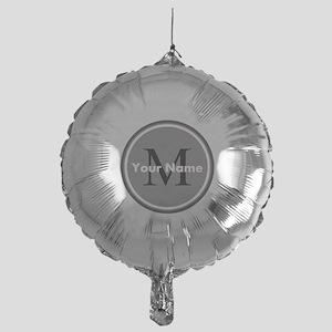 Custom Initial And Name Balloon