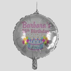 75TH CELEBRATION Mylar Balloon