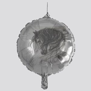 Mane Dance art Mylar Balloon