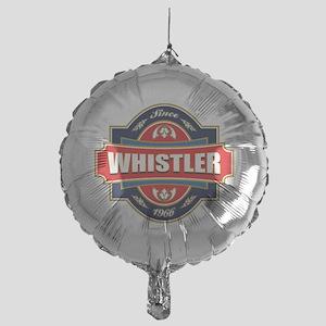 Whistler Old Label Mylar Balloon