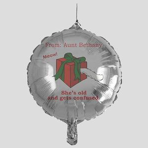 Cat-in-a-Box Mylar Balloon